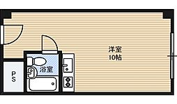 新大阪コーポラス[9階]の間取り