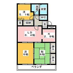 グランドリーム[2階]の間取り