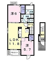ステーションハウスM HARA[2階]の間取り