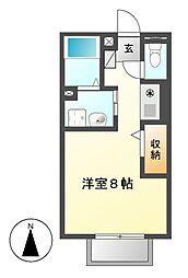 メゾン筒井[1階]の間取り