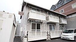 岡山県岡山市北区野田2丁目の賃貸アパートの外観