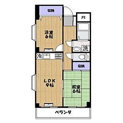 シゲタビル[4階]の間取り