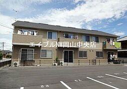 岡山県岡山市南区彦崎の賃貸アパートの外観