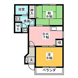 コミュニティ21[1階]の間取り