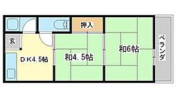三森マンション[1-C号室]の間取り