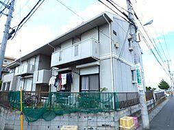 埼玉県越谷市大房の賃貸アパートの外観