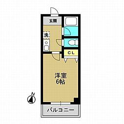 ハイトピアコバヤシ[4階]の間取り