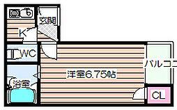 シャルマンJS[4階]の間取り