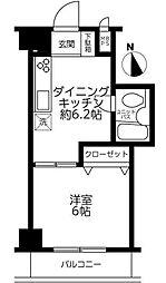 セブンスターマンション三ノ輪[1階]の間取り
