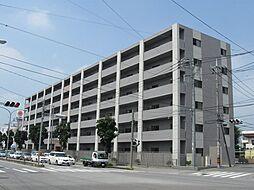 栃木県宇都宮市陽東4丁目の賃貸マンションの外観
