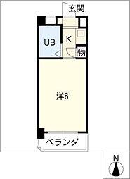 DOLL八事富士見[3階]の間取り
