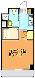 リバティゲート[406号室]の間取り