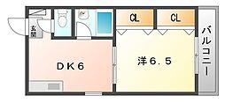 第2八紘マンション[4階]の間取り