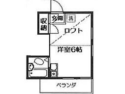 メゾン代田[2階]の間取り