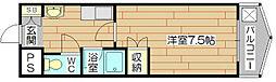 エスポワール城西[1階]の間取り