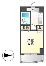 岩井橋ロイヤルハイツ[5階]の間取り