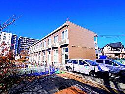 埼玉県新座市野火止4の賃貸アパートの外観
