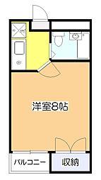 カーサ・スッド[2階]の間取り
