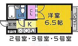 浅香山駅 2.5万円