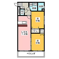光陽ビル[2階]の間取り