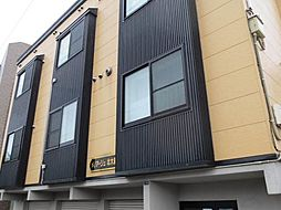 北海道札幌市北区北十三条西1丁目の賃貸アパートの外観
