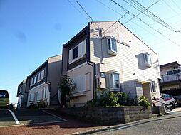 兵庫県宝塚市野上3丁目の賃貸アパートの外観