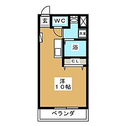 三条ハイツ[1階]の間取り