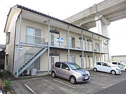 新潟県新潟市中央区本馬越2丁目の賃貸アパートの外観