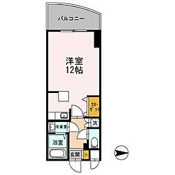 カスタリア新梅田[0804号室]の間取り