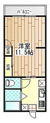 b・オリオン伊勢原[2階]の間取り