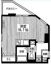 プライムステージオオシマ[2階]の間取り