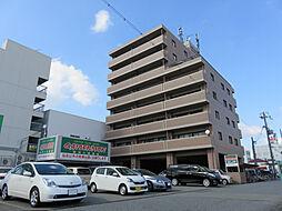 兵庫県姫路市飾磨区三宅2丁目の賃貸マンションの外観