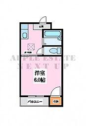 プレアール小阪II[2階]の間取り
