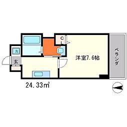 カサカリエンテ[2階]の間取り