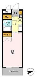 ホーム幕張本郷[2階]の間取り