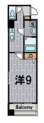 神奈川県横浜市鶴見区菅沢町の賃貸マンションの間取り
