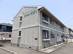 セジュール富田 B棟[1階]の外観