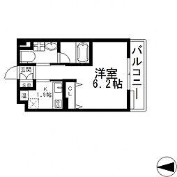 Ritz小阪(リッツ小阪)[605号室号室]の間取り