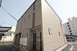 広島県福山市明神町2丁目の賃貸アパートの外観