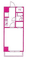 プライムコア溝の口[4階]の間取り