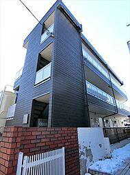 埼玉県草加市住吉2の賃貸マンションの外観