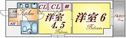 兵庫県神戸市中央区元町通7丁目の賃貸マンションの間取り