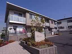 大阪府羽曳野市桃山台4丁目の賃貸アパートの外観