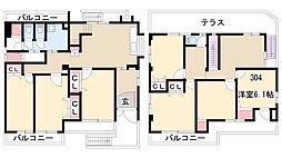 小幡シェアハウス[304号室]の間取り
