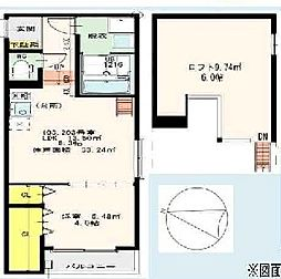 STAGE姫島[103号室]の間取り