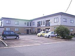 秋田県横手市赤坂字荒沼の賃貸アパートの外観