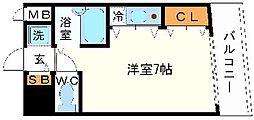 カトレアビル[4階]の間取り