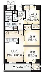 Osaka Metro南港ポートタウン線 平林駅 徒歩10分の賃貸マンション 7階3LDKの間取り