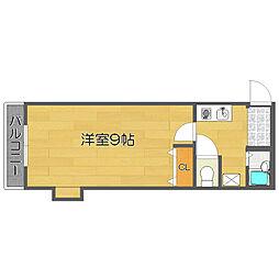 OBA住吉川[7階]の間取り