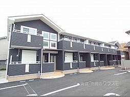 大阪府河内長野市錦町の賃貸アパートの外観